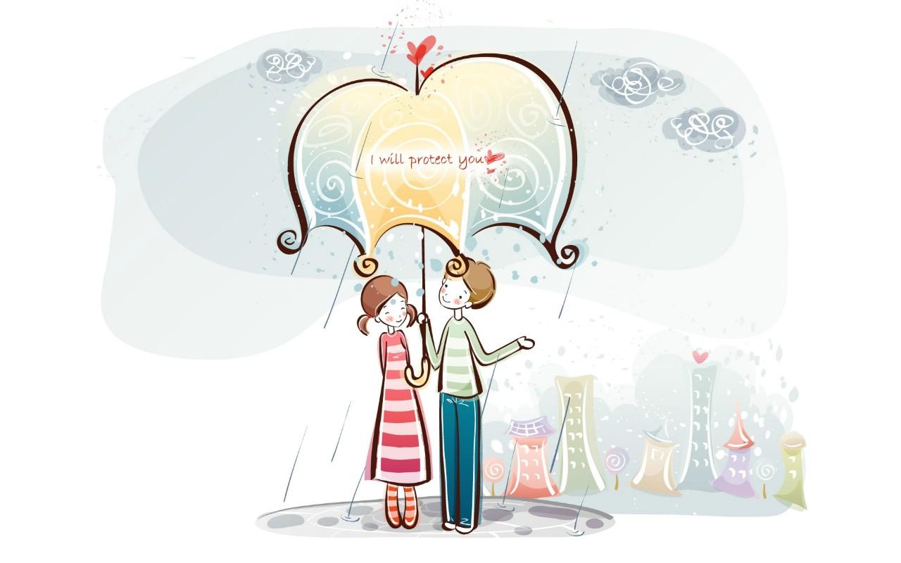 壁纸1280×800爱情宽屏卡通壁纸下载壁纸 爱情宽屏卡通壁纸下载壁纸图片动漫壁纸动漫图片素材桌面壁纸
