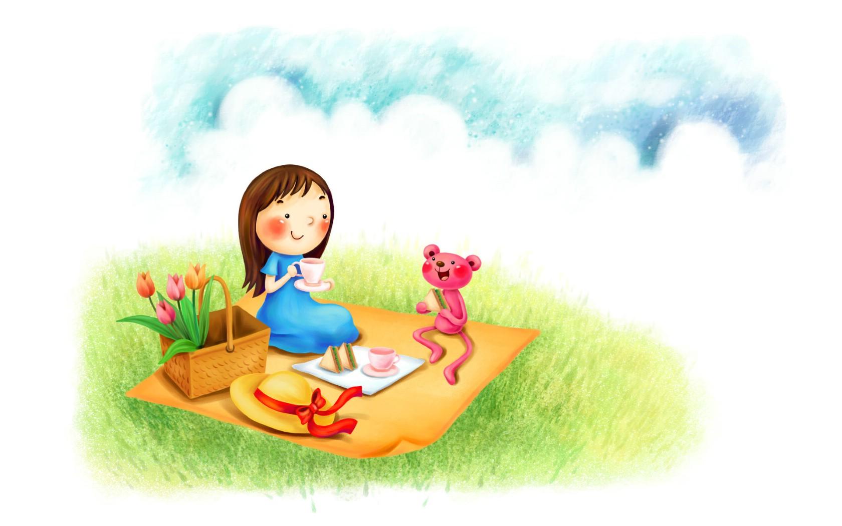 壁纸1680×1050卡通儿童摄影壁纸下载壁纸,卡通儿童