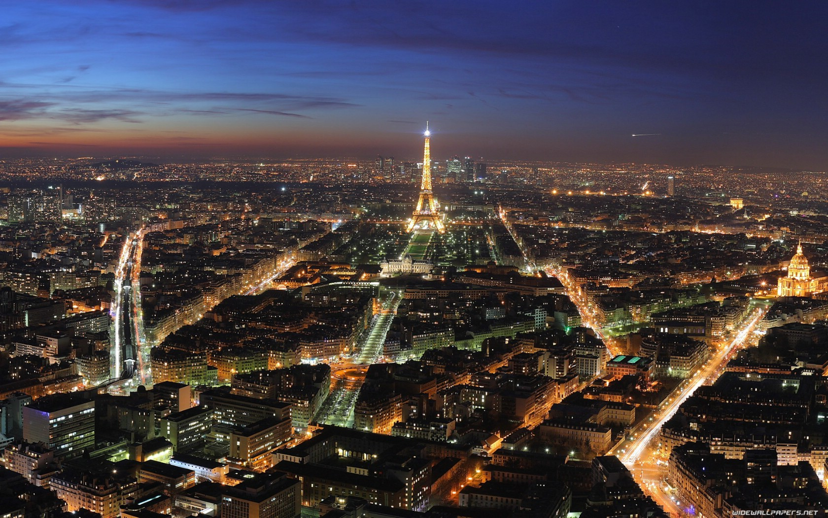 巴黎城市摄影风光win7高清电脑桌面主题壁纸高