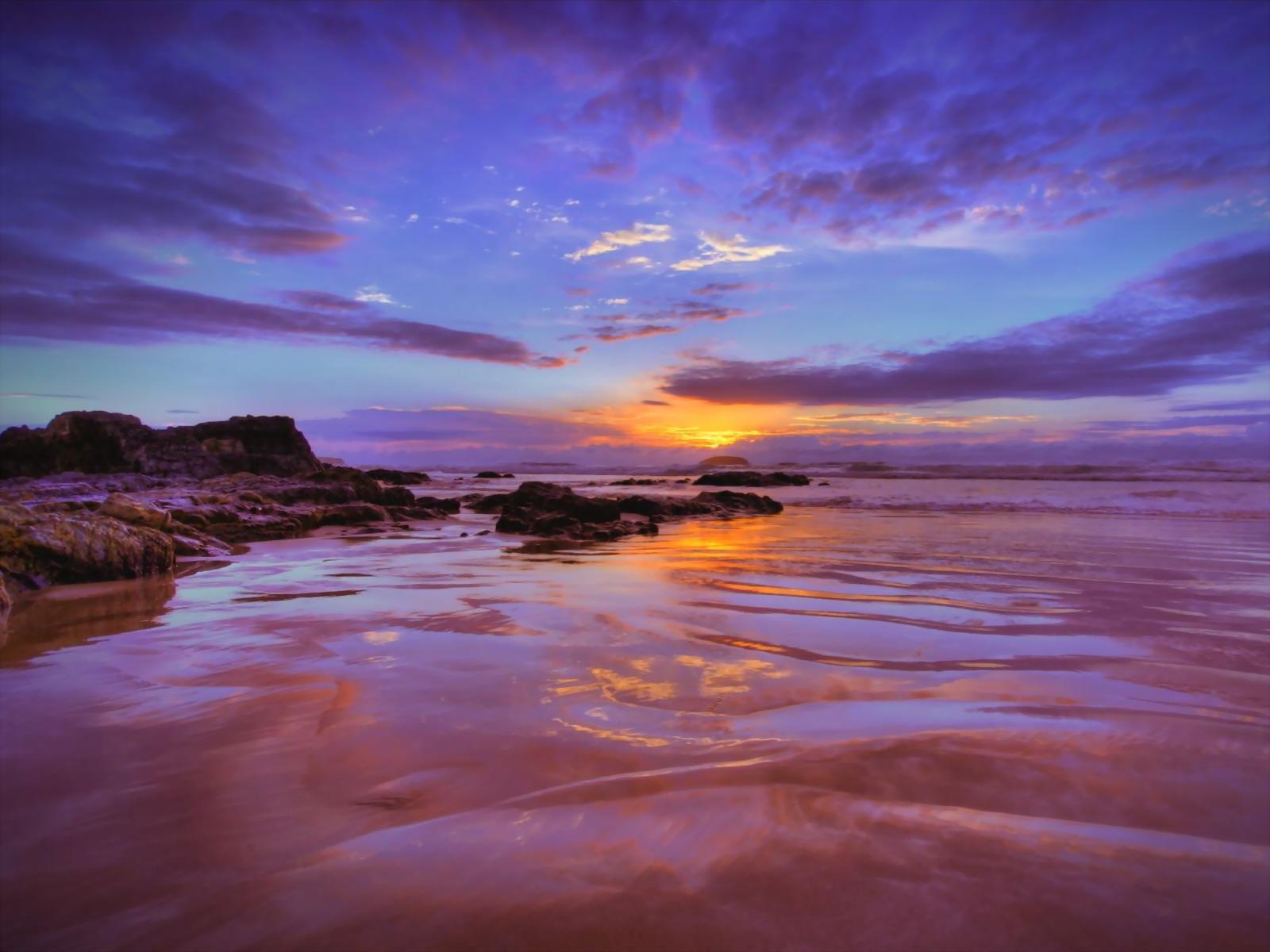 Фото рассвет море