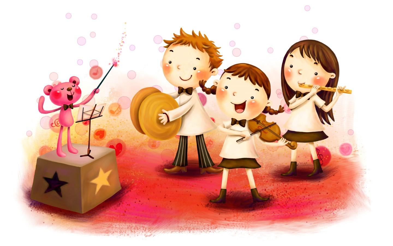 壁纸1440×900儿童节快乐宽屏壁纸壁纸