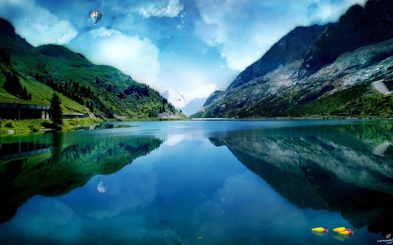 壁纸 风景 山水 摄影 桌面 1440_900