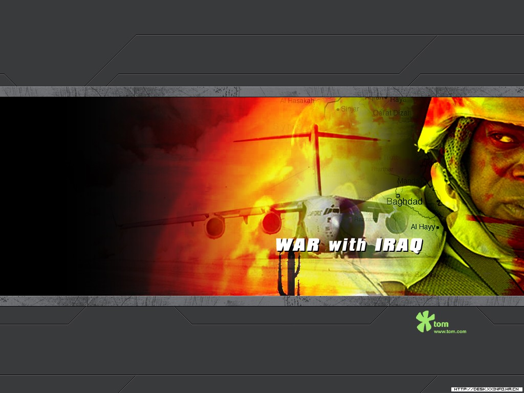 壁纸1024×768伊拉克战争壁纸 伊拉克战争壁纸图片军事壁纸军事图片素材桌面壁纸