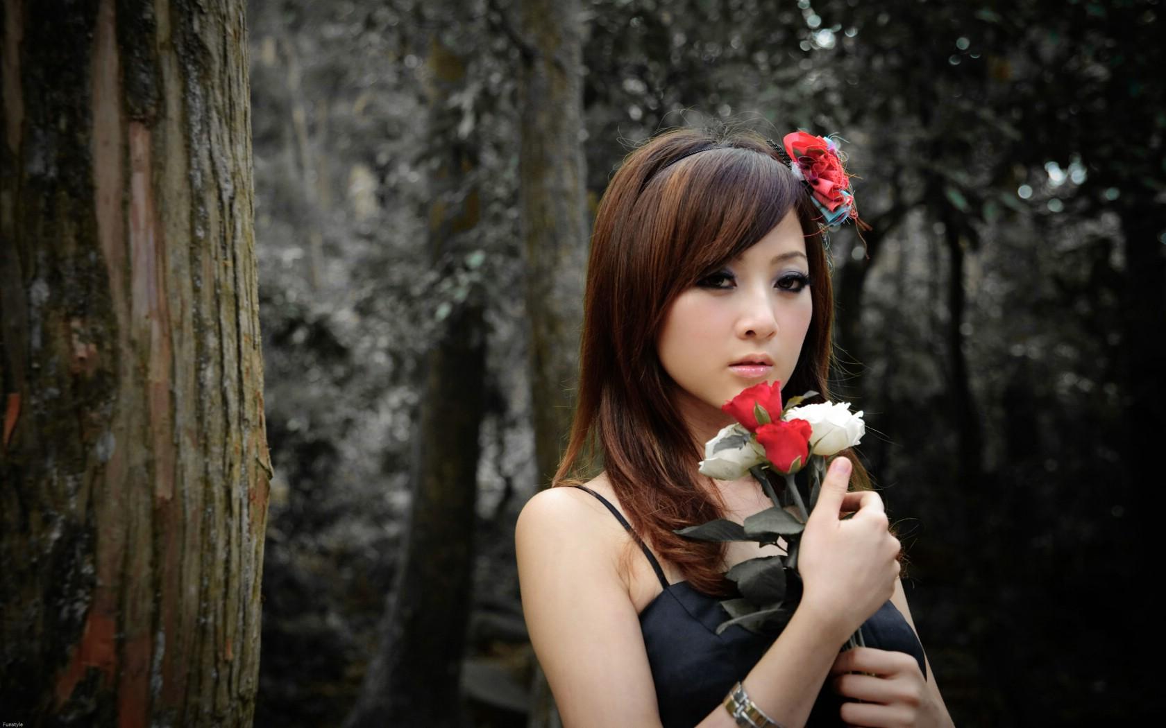 壁纸1680×1050女同台湾宽屏美女壁纸壁纸,高美高清学惹不起免费图片