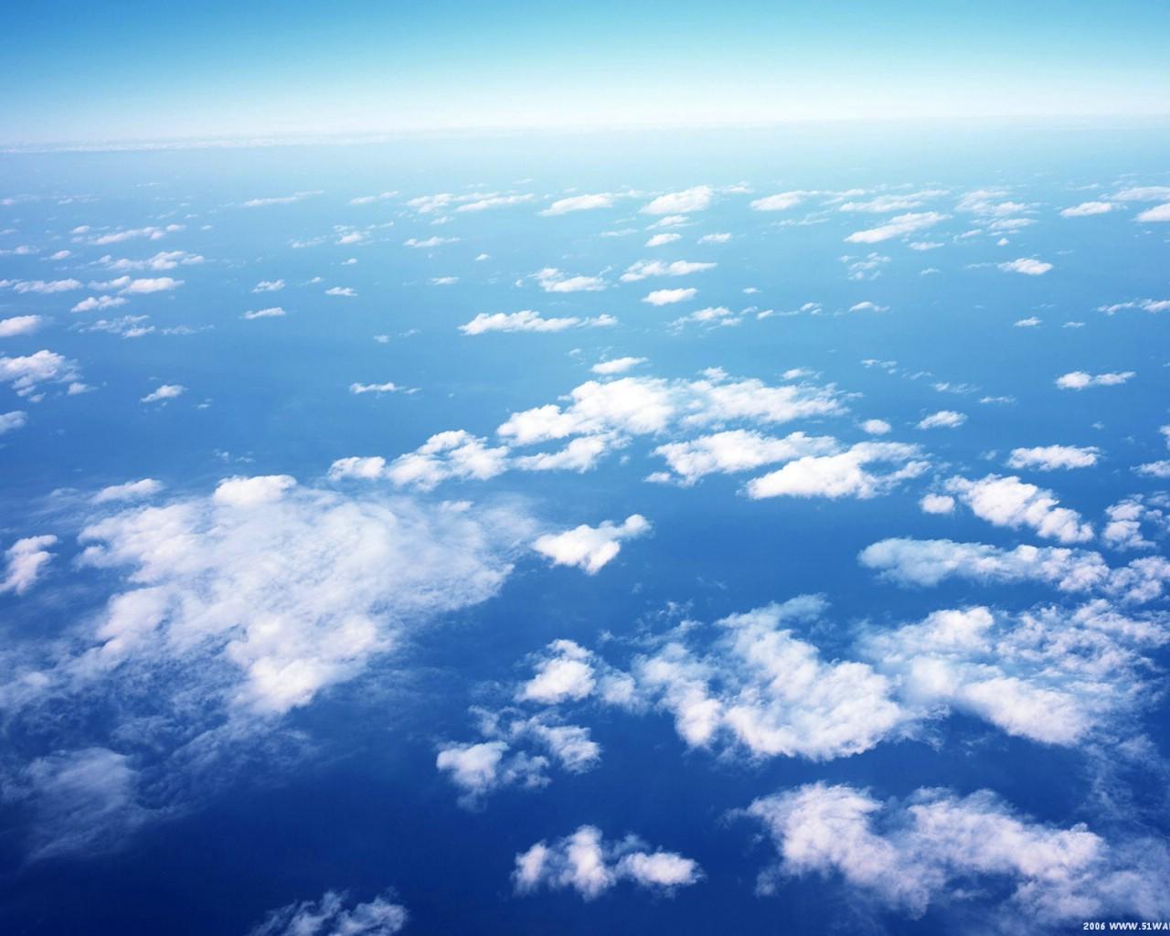 壁纸1280×1024蓝天白云 2壁纸 蓝天白云2壁纸图片人文壁纸人文图片素材桌面壁纸