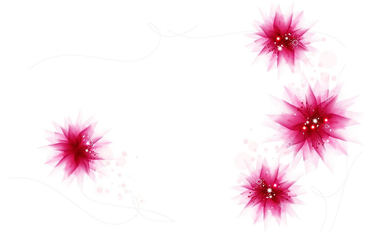 树叶花朵花边_古风花朵花边